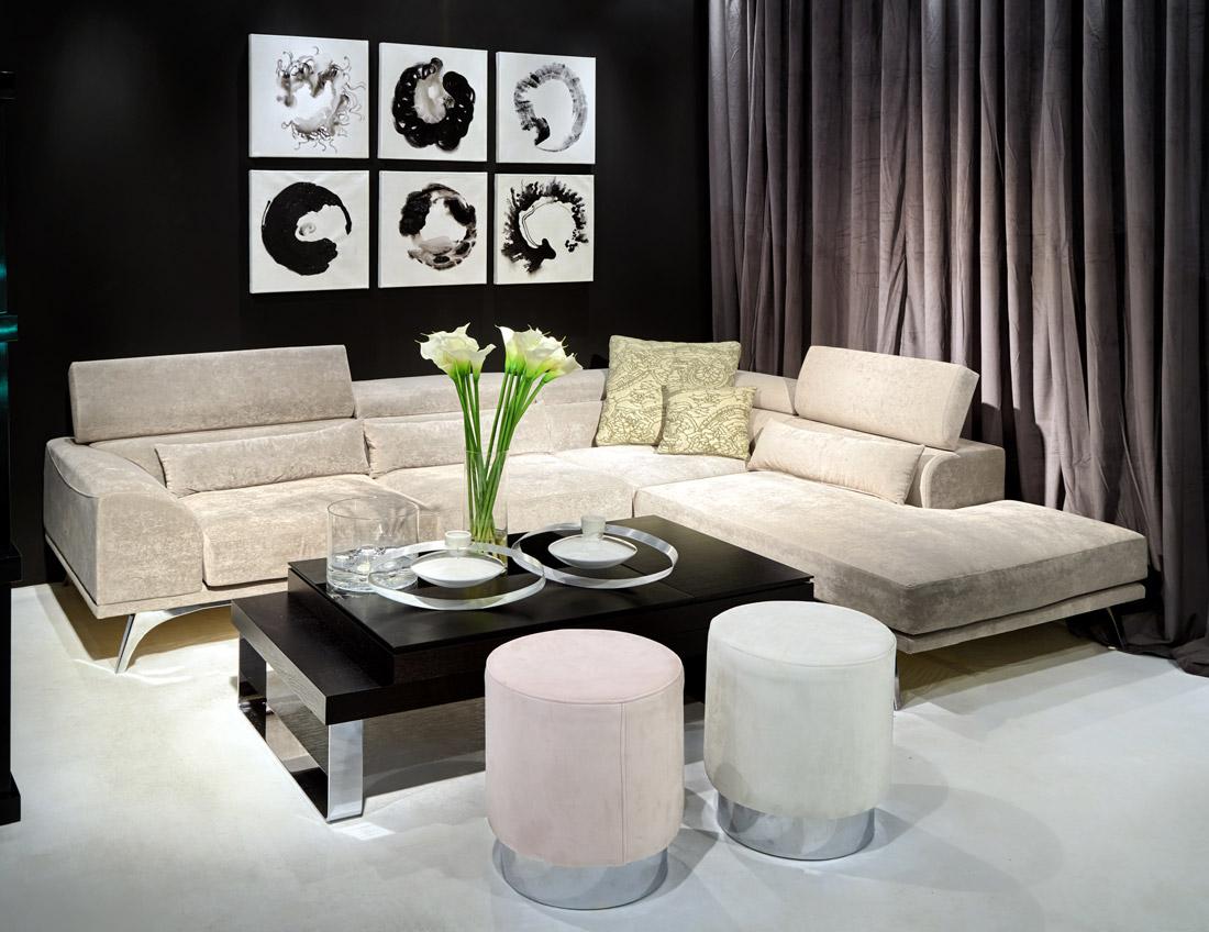 Γωνιακός Καναπές - Σκαμπό - Τραπεζάκι | Έπιπλα Κυρίτσης
