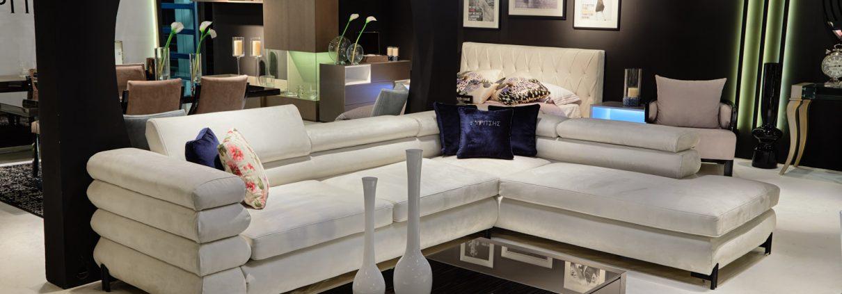 Γωνιακός καναπές -Κυρίτσης