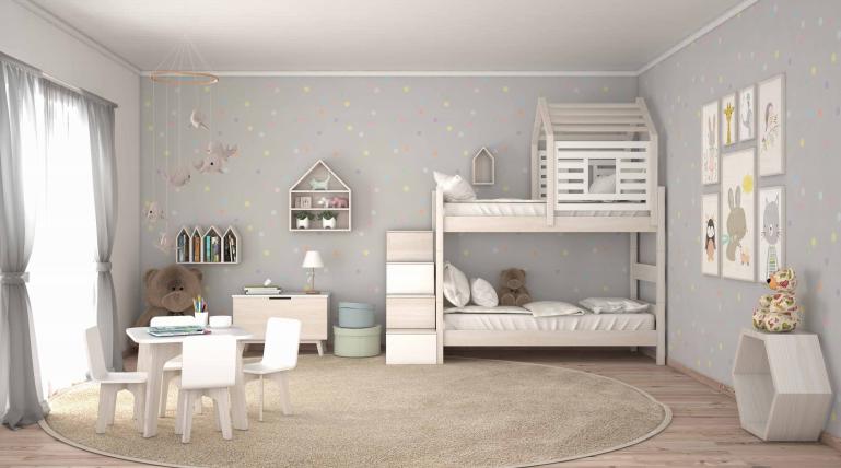 ad2466a7bfb Σε μικρό παιδικό δωμάτιο, μπορεί να έχει κανείς ντουλάπα με πολλαπλές  λειτουργίες , κρεβάτι με συρτάρια και αποθήκευση κ.λπ., θα δώσει μια πιο  ευχάριστη, ...